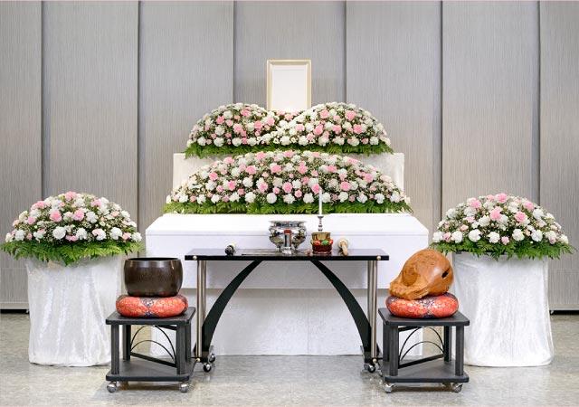 シンプルな一般葬イメージ写真